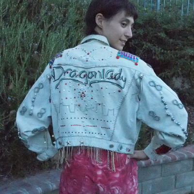 My Dragonlady Jacket -- Back